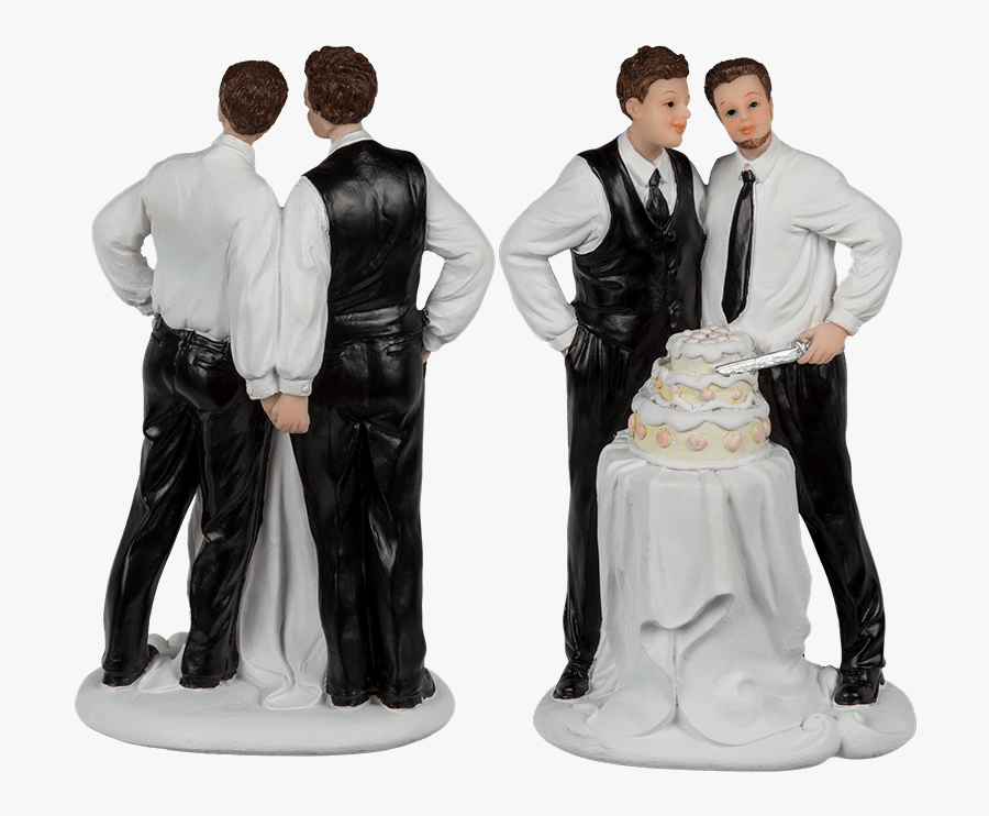 Transparent Wedding Couple Png - Figurine, Transparent Clipart