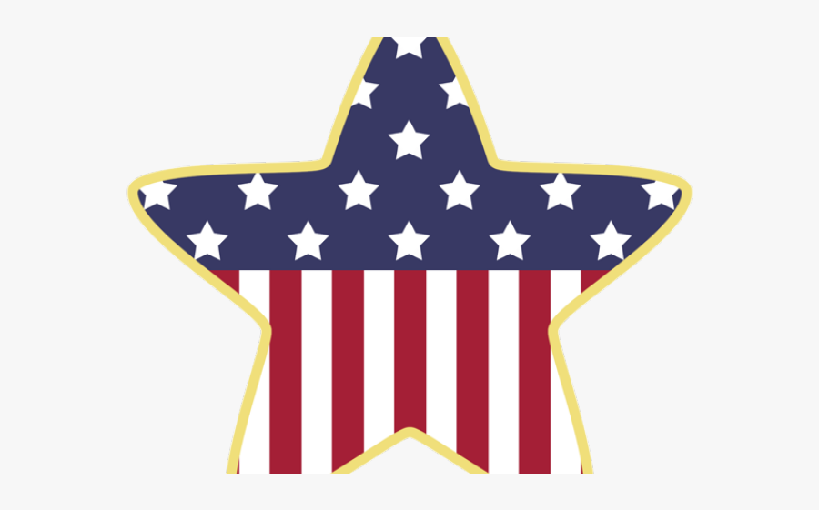 4th Of July Flag Clipart, Transparent Clipart