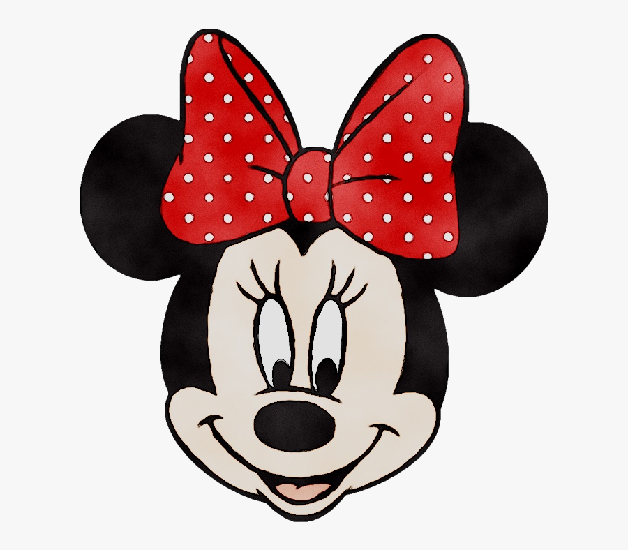 Minnie Mouse Mickey Mouse Clip Art Iron-on Goofy - Minnie Mouse Face Disney, Transparent Clipart