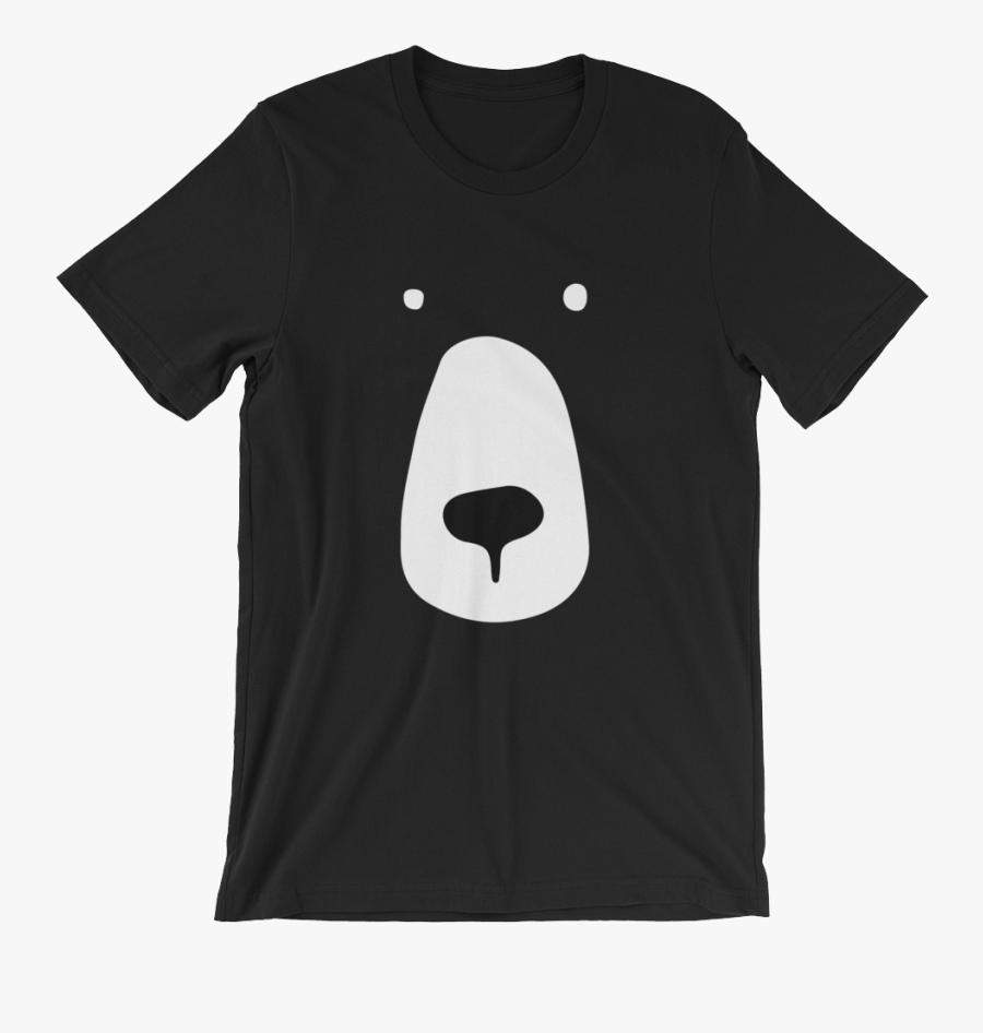 "Bear - ""bear Face - Mr Bubz T Shirt, Transparent Clipart"
