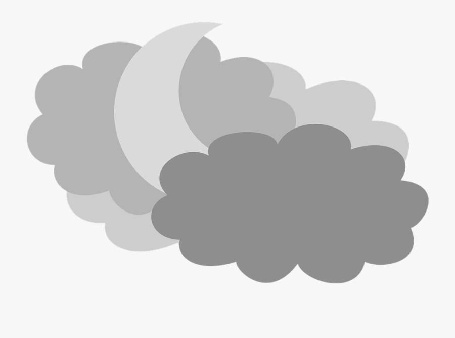 Transparent Cloudy Sky Png - Rain Cloud Cartoon Gif, Transparent Clipart