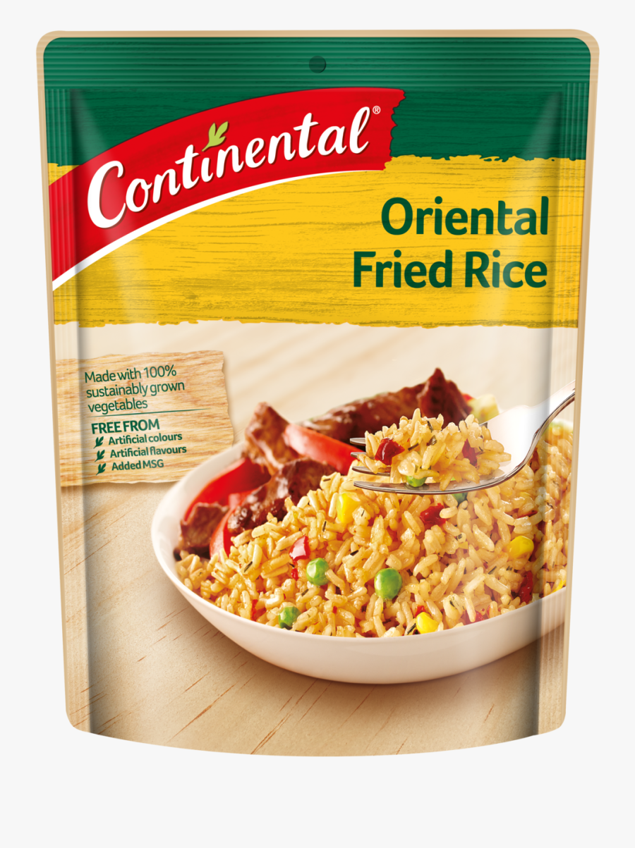 Oriental Fried Rice - Continental Oriental Fried Rice, Transparent Clipart
