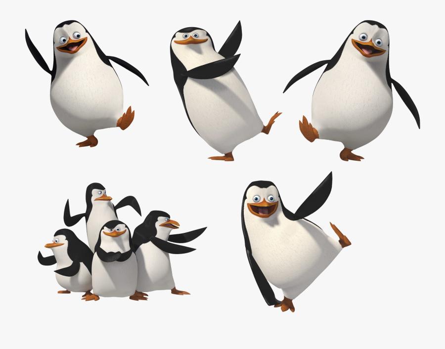 Penguins Of Madagascar Season 4 Premiere Date - Penguins Of Madagascar Black And White, Transparent Clipart