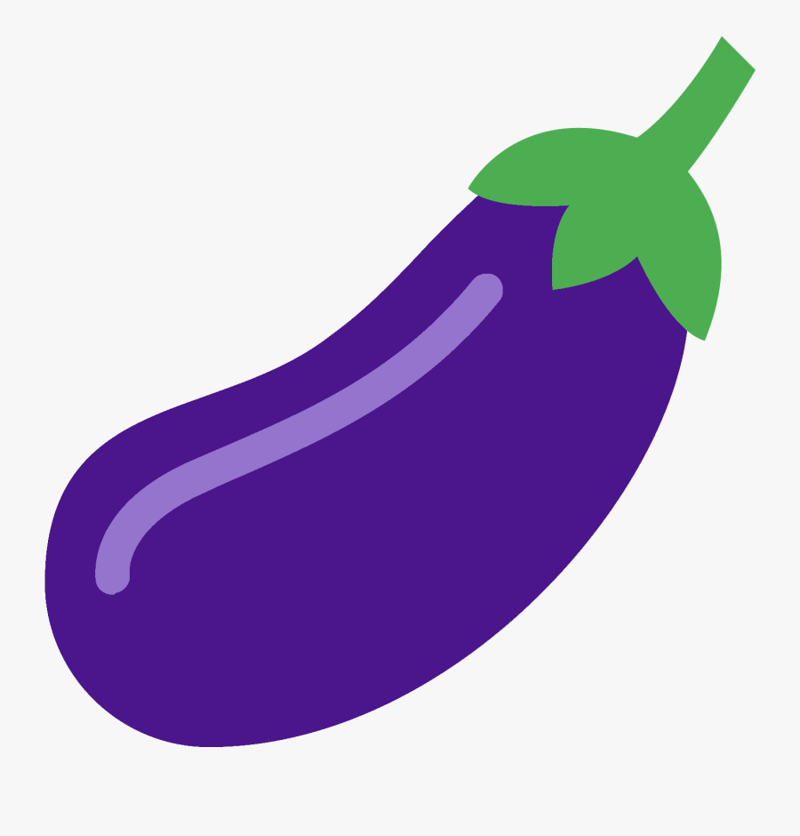 """It""""s A Logo Of An Eggplant - Eggplant Icon Png, Transparent Clipart"""