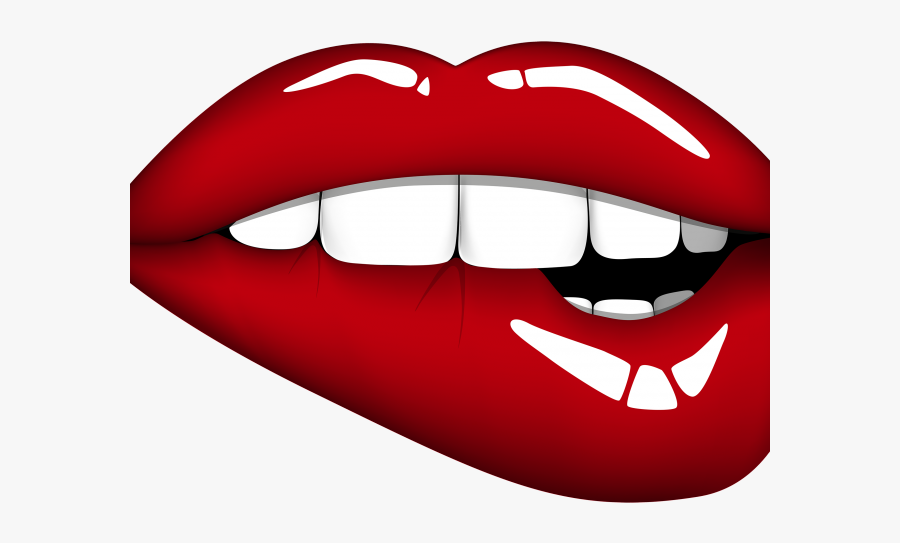 Cartoon Lips Clipart Biting Lips Clipart Free Transparent Clipart Clipartkey