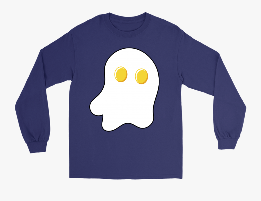 Halloween Egg Ghost Sunny Side Up Eggs Funny Halloween - Lung Cancer Shirt Ideas, Transparent Clipart
