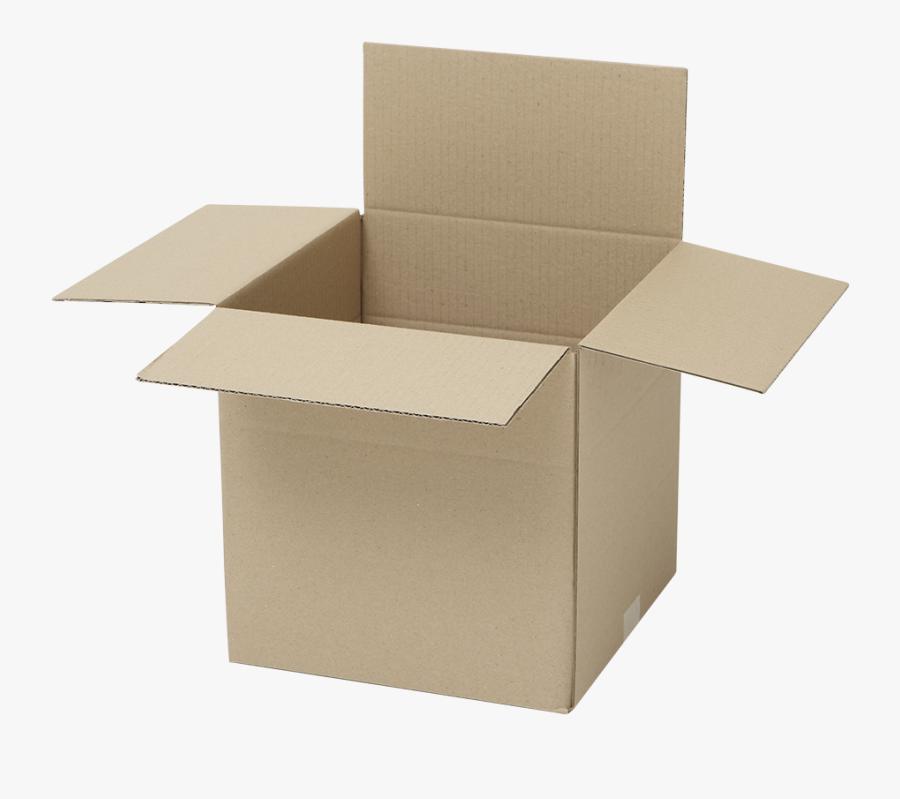 Shipping-box - Paper Card Box Transparent Background, Transparent Clipart