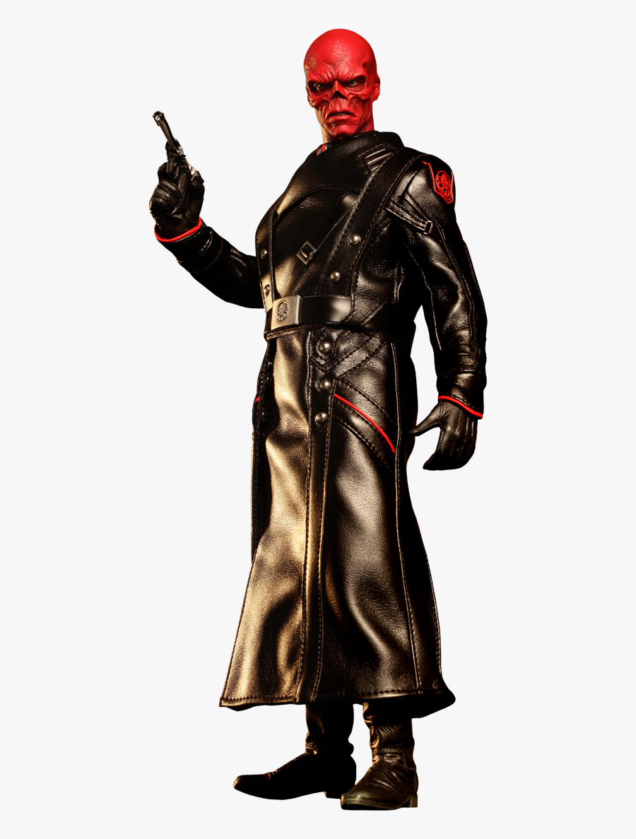 Clip Art Joker Red Skull - Hot Toys 1 6 Red Skull Captain America The First Avenger, Transparent Clipart