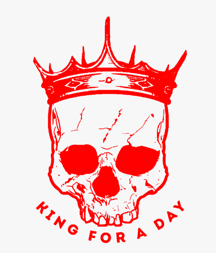 #aesthetic #text #quote #red #skull #skeleton #crown, Transparent Clipart