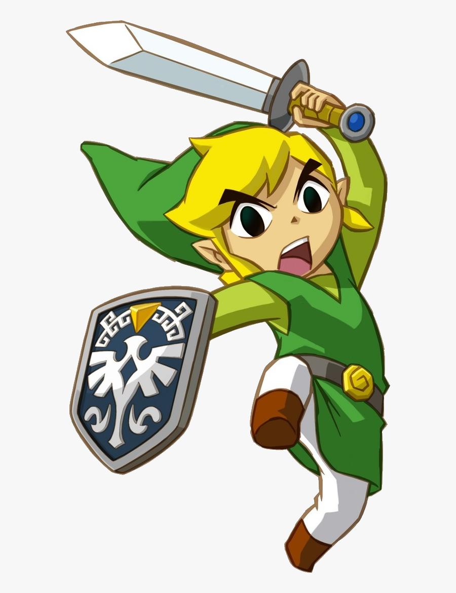 Zelda Link Png Clipart - Link Zelda Phantom Hourglass, Transparent Clipart