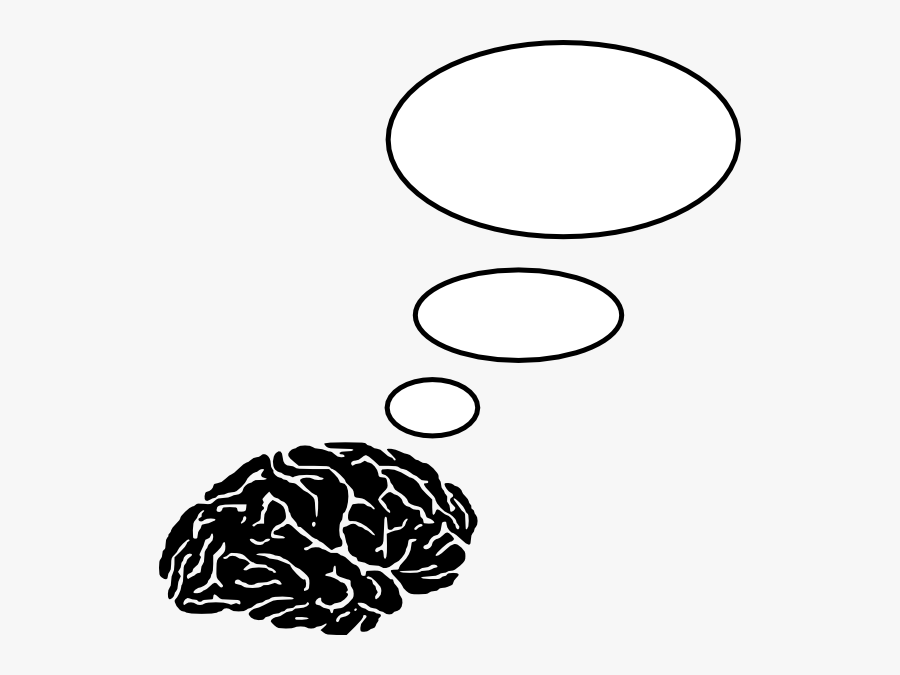 Brain Clip Art At Clker - Brain Thinking Clipart, Transparent Clipart