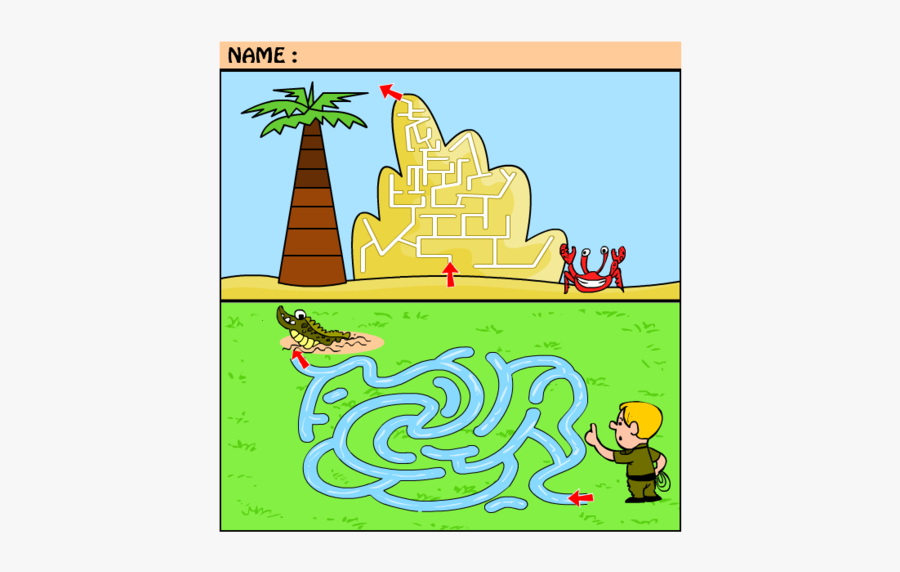 Clip Art Medium Maze Teaser Pinterest - Illustration, Transparent Clipart