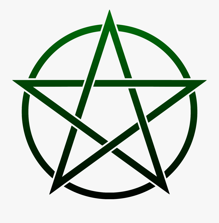 Wicca Pentagram Pentacle Witchcraft Symbol - Pentagram Clipart, Transparent Clipart