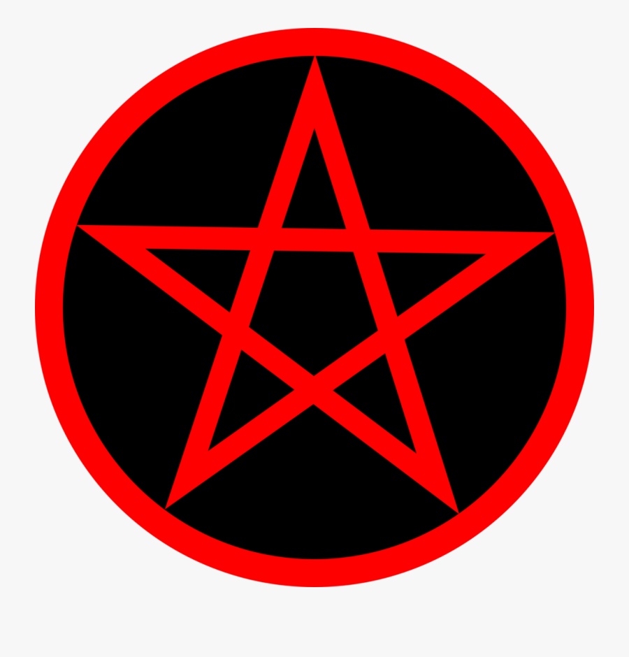 Wicca Pentacle Pentagram Triple Goddess - Pentagram Pasties, Transparent Clipart