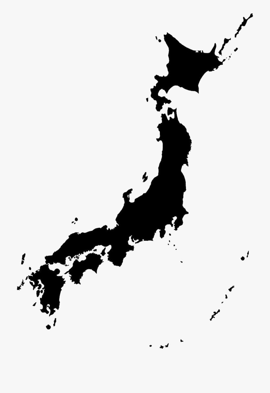 Japan Map Png Transparent Image - Japan Map Transparent Background, Transparent Clipart