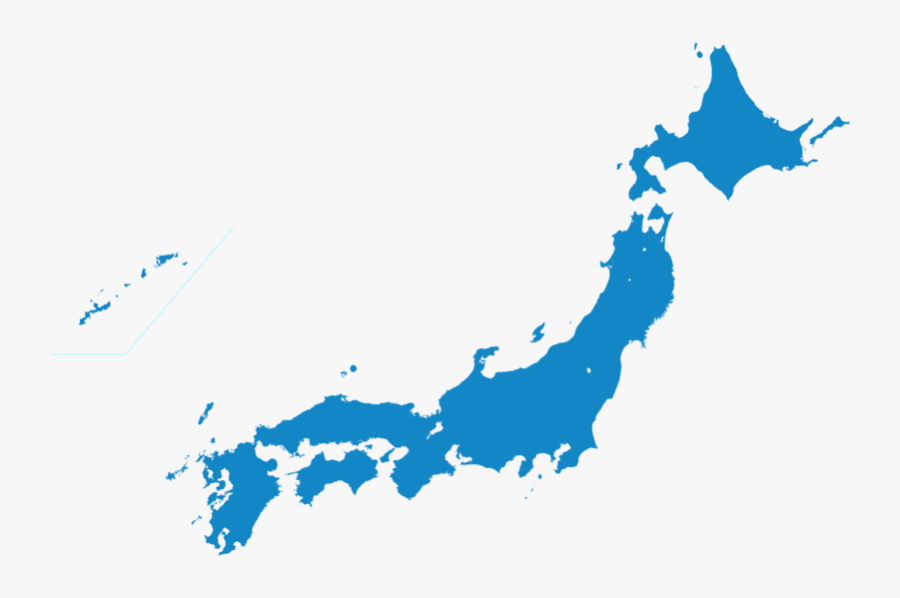 Japan Map Transparent Png - Japan Map Transparent Background, Transparent Clipart