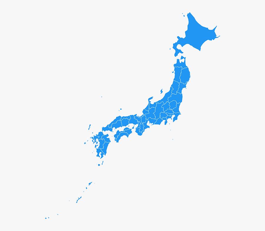 - Japan Map Black - Japan Map, Transparent Clipart