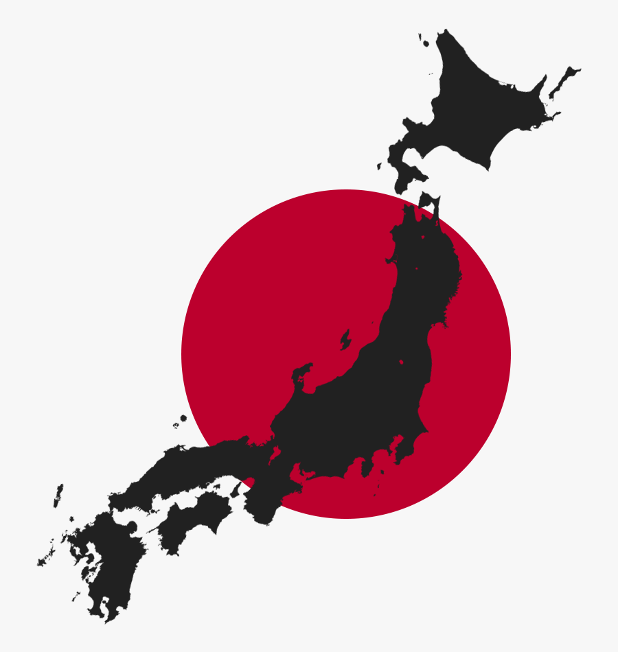 Map Of Japan Png Clipart , Png Download - Transparent Japan Map Png, Transparent Clipart