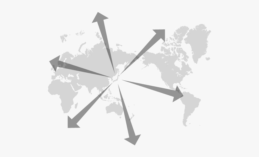World Map Mercator Svg, Transparent Clipart