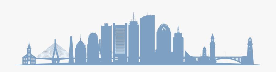 Boston Vector Graphics Stock Illustration Image Skyline - Boston Skyline Vector, Transparent Clipart