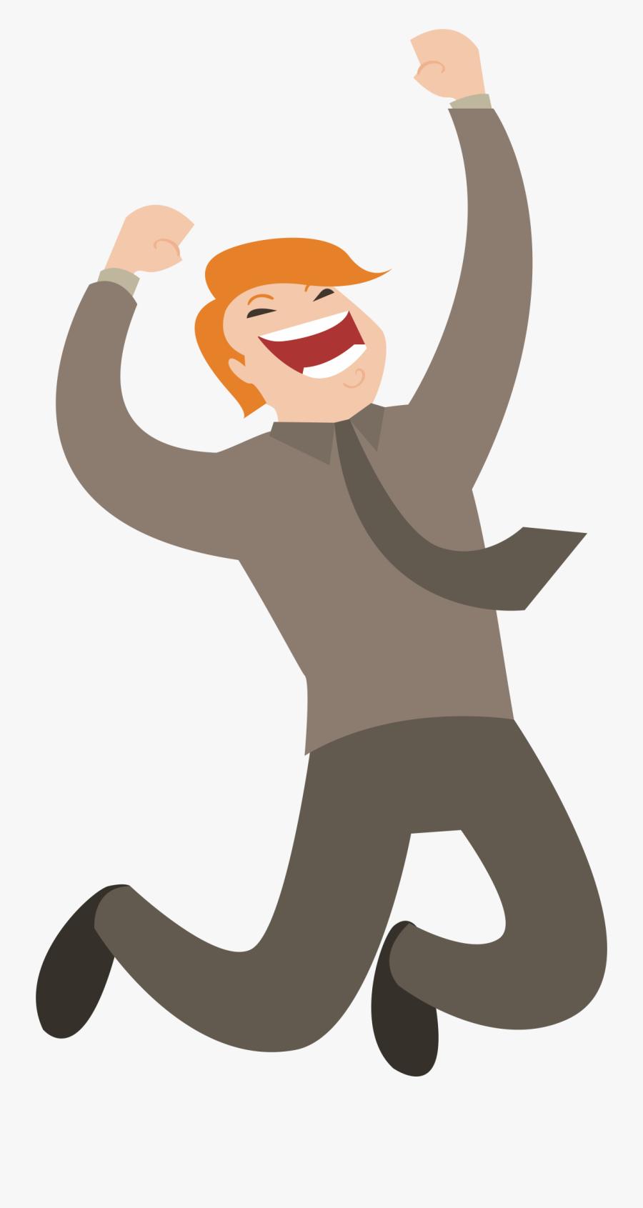 Web Development Customer Application - Transparent Happy People Vector Png, Transparent Clipart