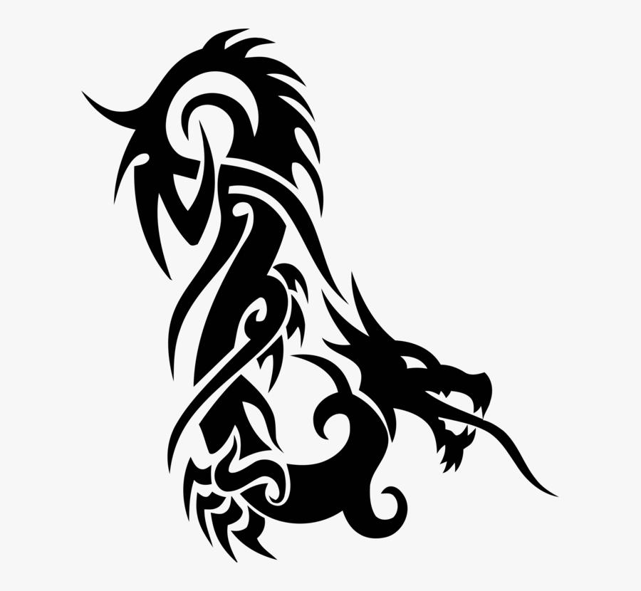 Graphic Design,silhouette,art - Tribal Tattoo, Transparent Clipart