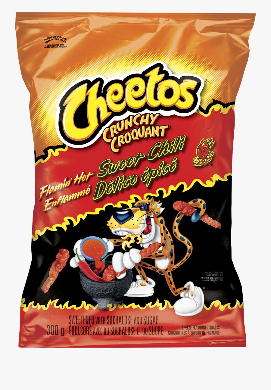 Transparent Dorito Bag Png - Flamin Hot Cheetos Sweet Chili, Transparent Clipart