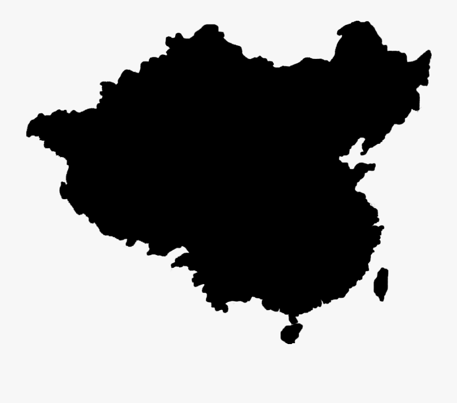 Flag Of China Blank Map China Tour - China Map Vector Png, Transparent Clipart