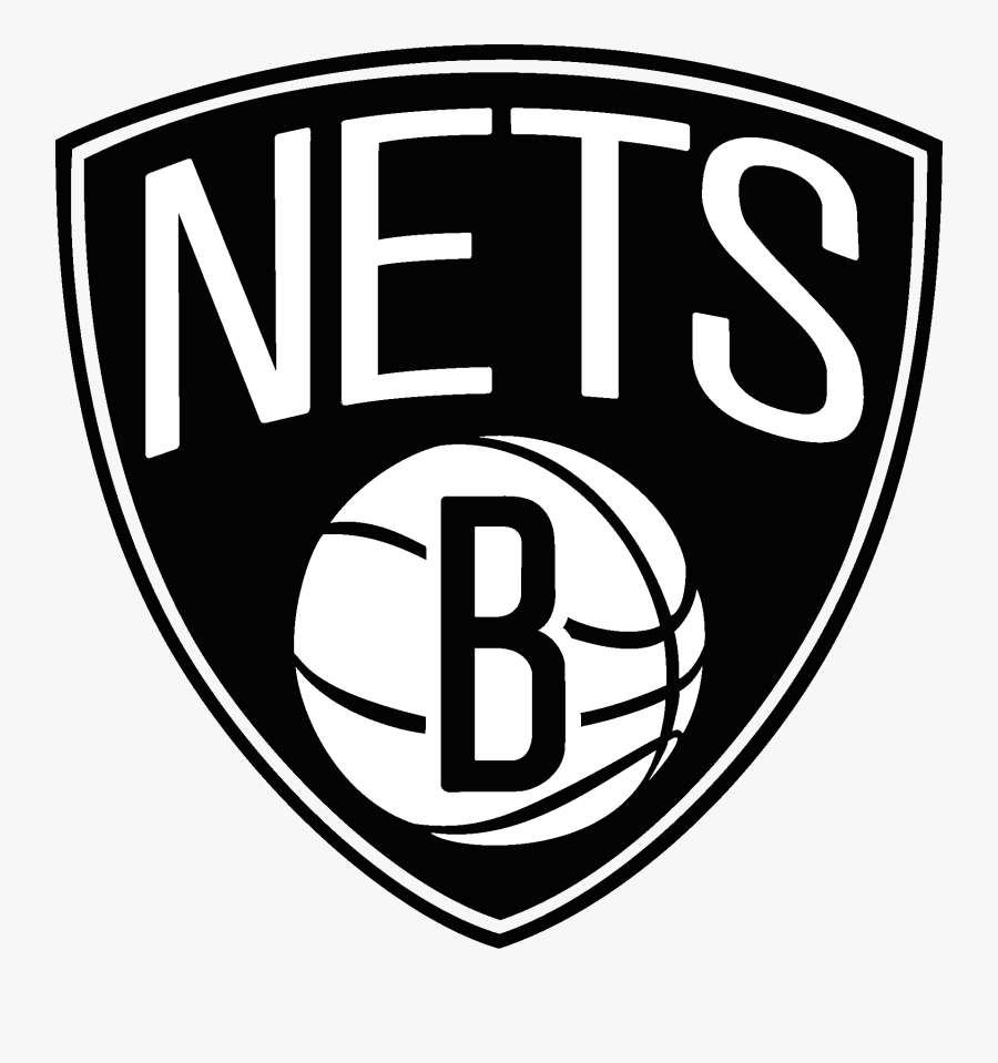Brooklyn Nets Nba Team - Brooklyn Nets Logo Png, Transparent Clipart
