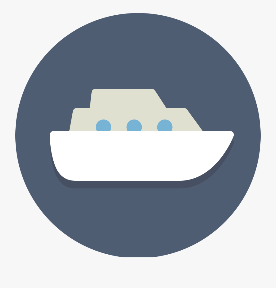 Image Black And White Stock Cruise Svg Icon - Vessel Icon Png, Transparent Clipart