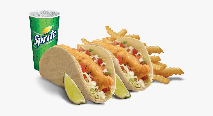 860 X 480 - Del Taco Menu Fish Tacos, Transparent Clipart