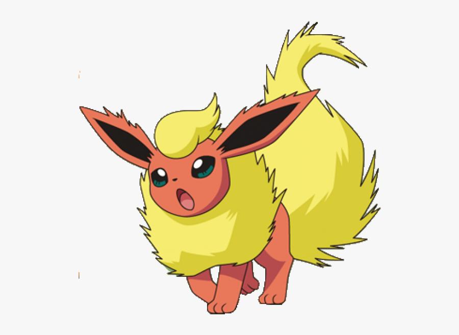 Pokémon Go Pokémon Channel Eevee Flareon - Pokemon Eevee Flareon, Transparent Clipart