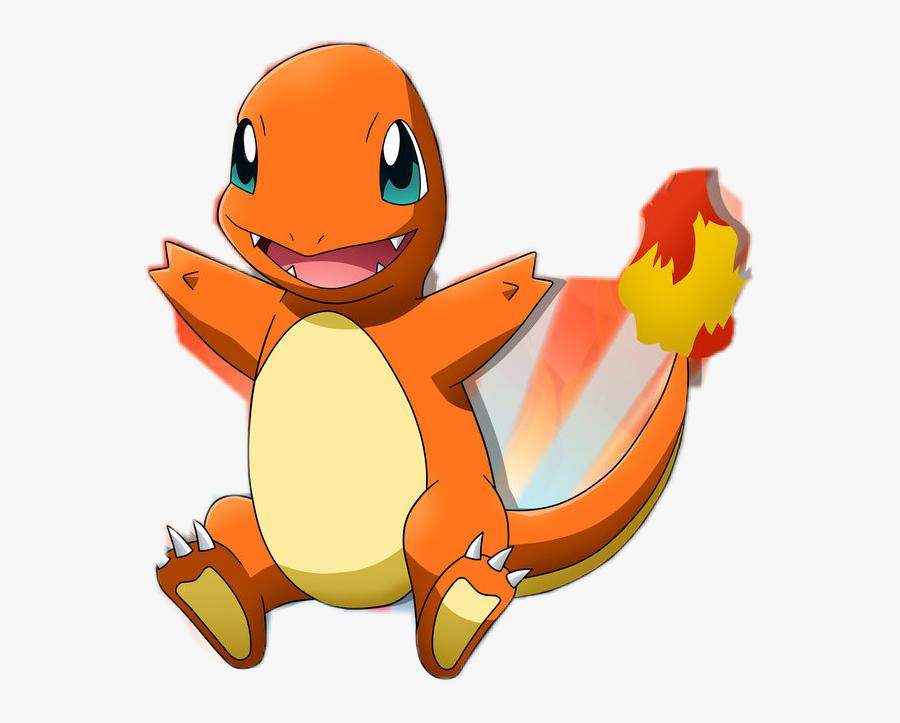 Pokemon Go Clipart Fondo - Charmander Png, Transparent Clipart