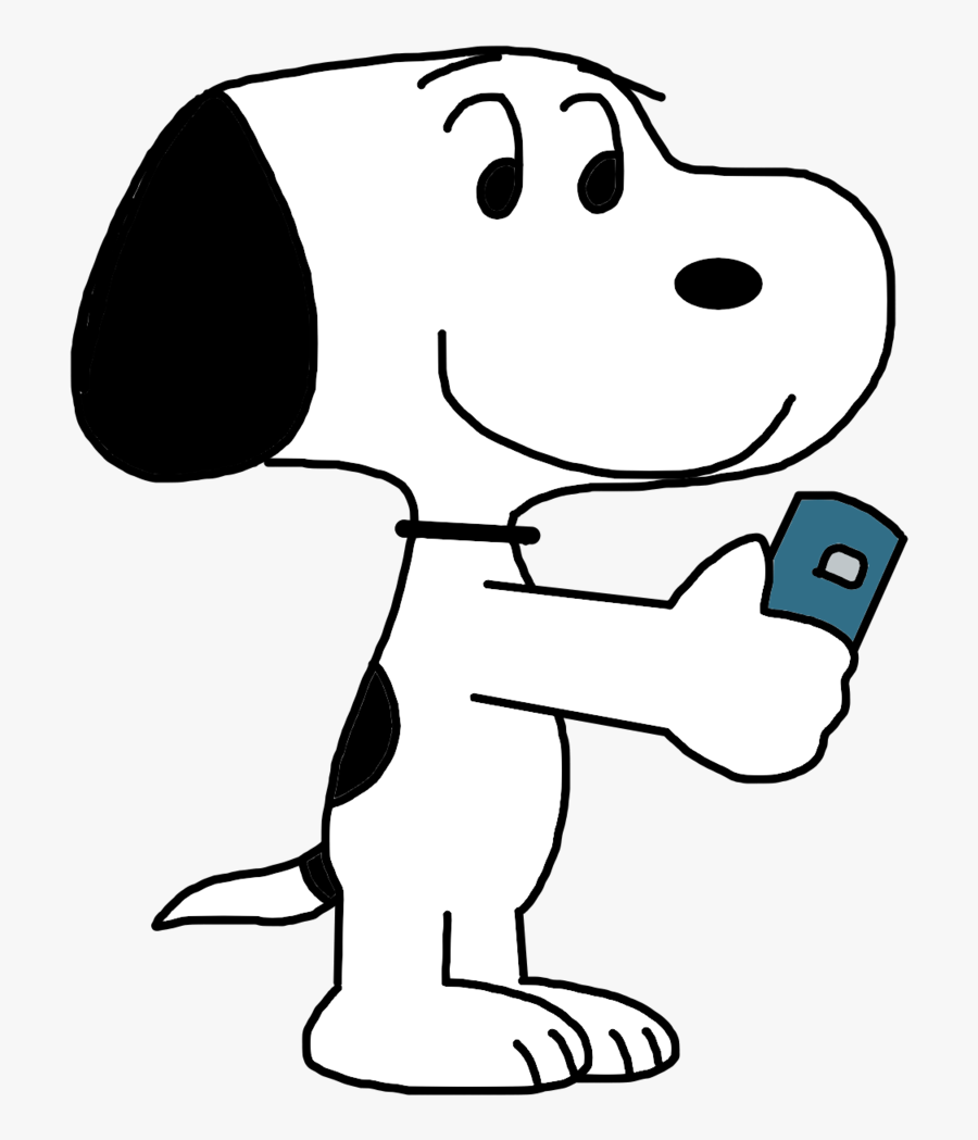 Marcospower1996 18 6 Snoopy Playing Pokemon Go By Marcospower1996, Transparent Clipart