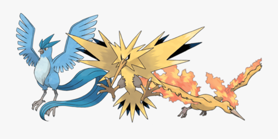 Zapdos Drawing Mythical - Legendary Pokemon, Transparent Clipart