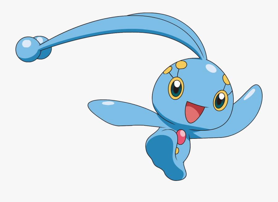 Manaphy Clipart - Pokemon Manaphy, Transparent Clipart