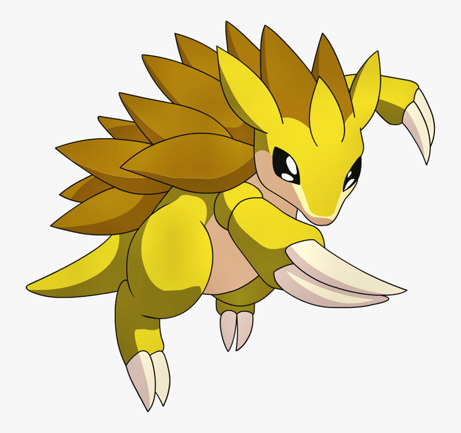 Pokemon Sandslash, Transparent Clipart
