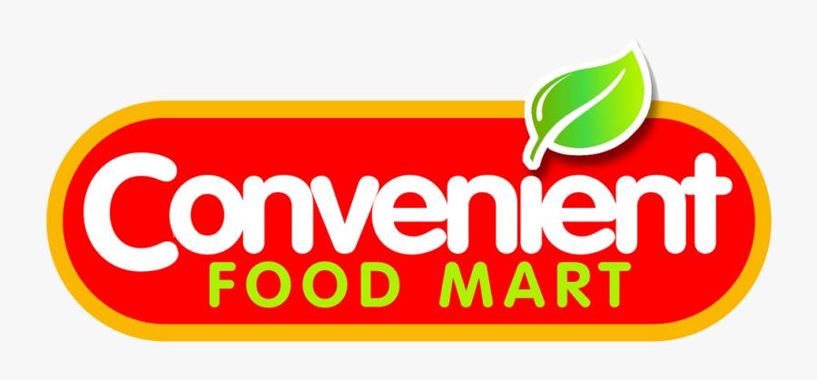 Convenient Food Mart Logo, Transparent Clipart