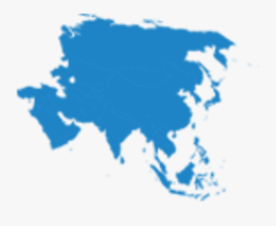 Asia Continent , Png Download - Asia Map Vector Png , Free ...