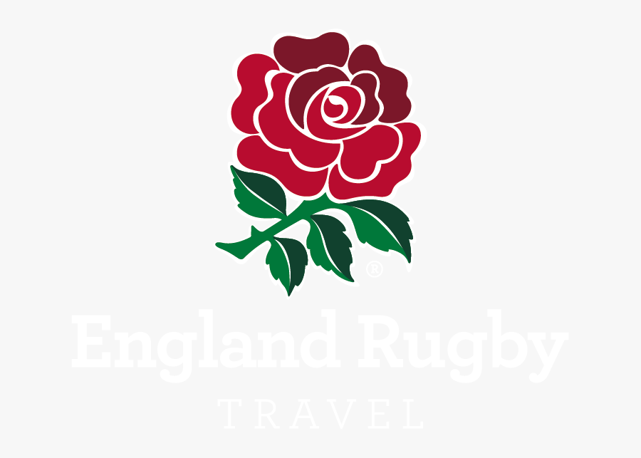 England Rugby Travel Primary Reverse Logo - Logo England Rugby World Cup, Transparent Clipart