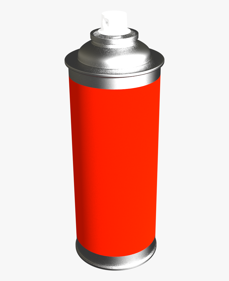 Transparent Red Spray Paint Png - Spray Paint Can Png, Transparent Clipart