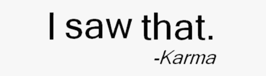 #karma #tumblr - Calligraphy, Transparent Clipart