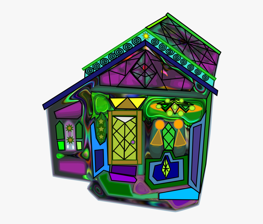 Play,purple,recreation - Stained Glass, Transparent Clipart