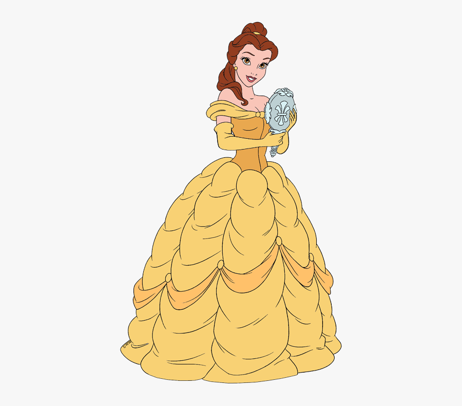 Beauty And The Beast Belle Clipart, Transparent Clipart