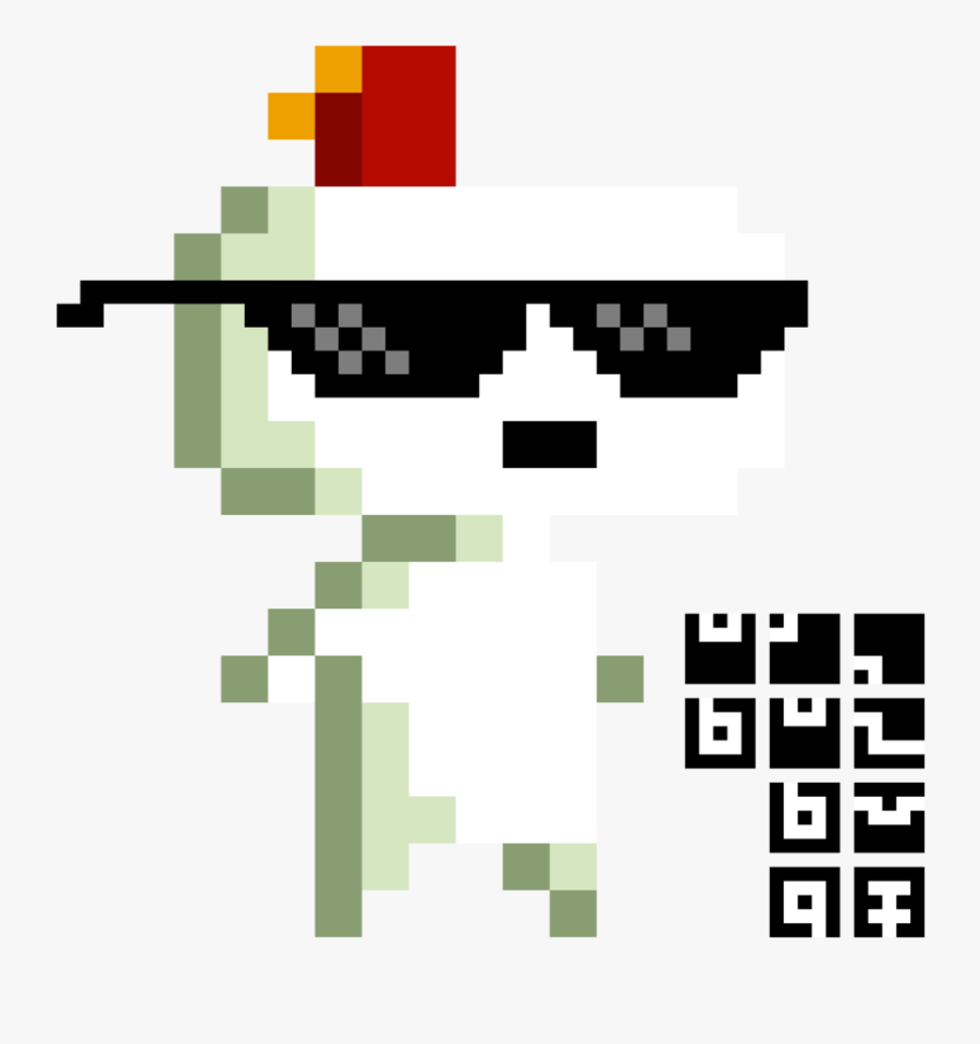 Deal With It Png File - Deal With It Glasses, Transparent Clipart