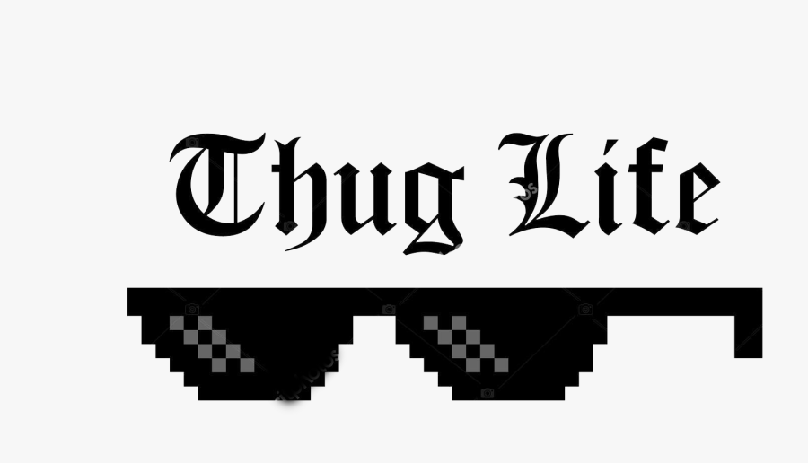Thug Life Clipart Png - Thug Life Joint And Glasses, Transparent Clipart