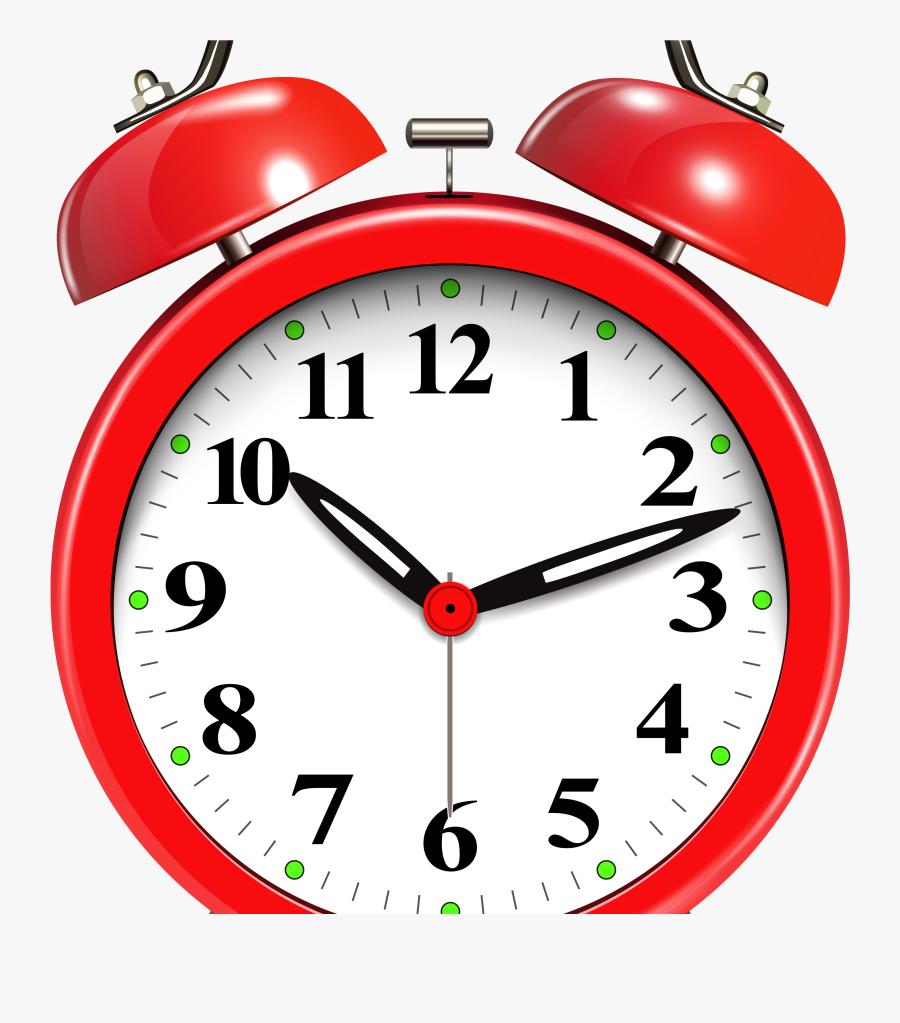 Octigon Clipart Clock - Transparent Alarm Clock, Transparent Clipart