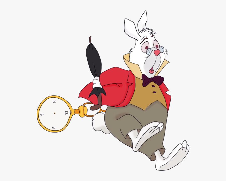 Download Rabbit Mad Hatter - Alice In The Wonderland Rabbit, Transparent Clipart