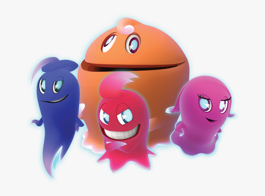 Pac Man Ghostly Adventures Ghosts , Png Download - Pac Man And The Ghostly Adventures Pac Man, Transparent Clipart