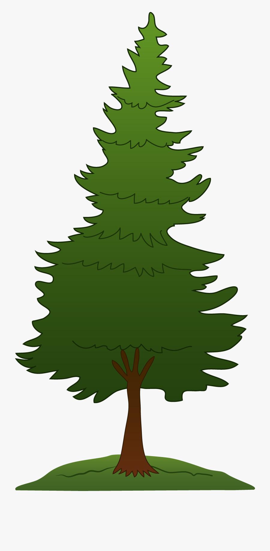 Redwood Tree Clip Art - Pine Tree Clipart Png, Transparent Clipart